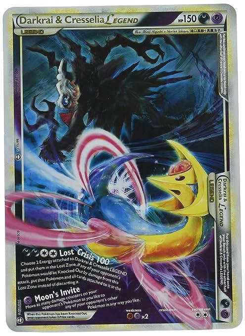 amazon com darkrai and cresselia legend jumbo oversized pokemon