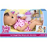 Baby Alive Luv n Snuggle Baby Doll brunette with blanket