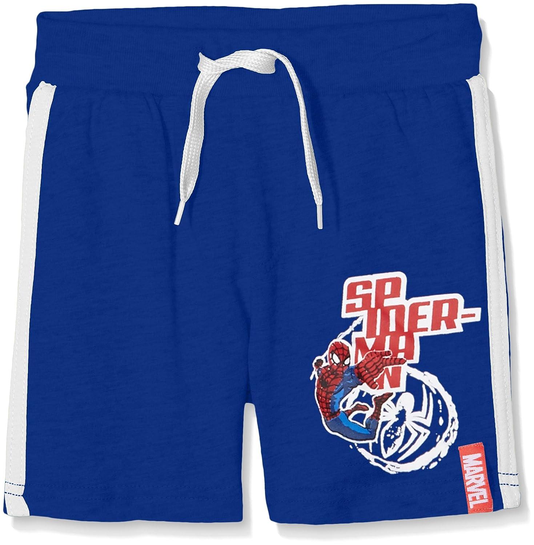 DC Comics Spiderman, Pantaloni Bambino Blu Blue 5-6 Años DQE1278
