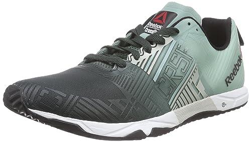 Reebok Crossfit Sprint 2.0 SBL - Zapatillas de Running de Material sintético Hombre, Color Verde, Talla 42.5: Amazon.es: Zapatos y complementos