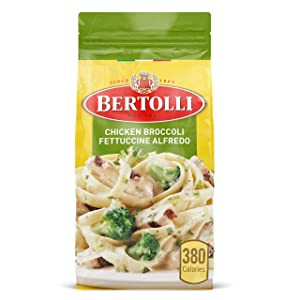 Bertolli Chicken Broccoli Fettuccine Alfredo Frozen Meals, 22 oz.
