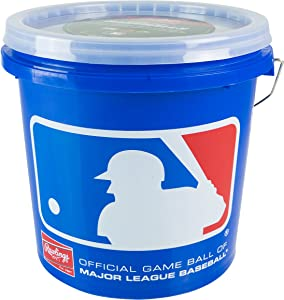 Rawlings Game Play Baseballs, Youth (12U), (Bucket of 24), R12UBUCK24
