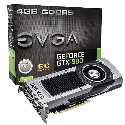EVGA 04G-P4-2982-KR - Tarjeta gráfica con GeForce GTX 980 (ddr5 ...
