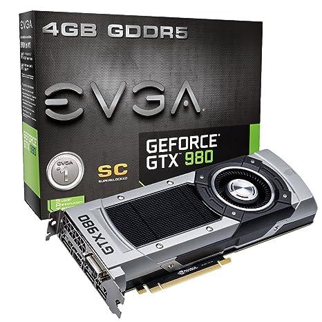 EVGA 04G-P4-2982-KR - Tarjeta gráfica con GeForce GTX 980 (ddr5 sdram)