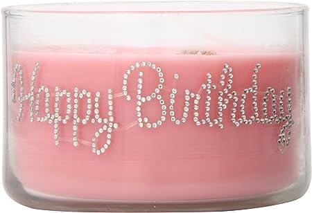 Amazon.com: Primal Elementos Feliz cumpleaños Wish Vela, 9,5 ...
