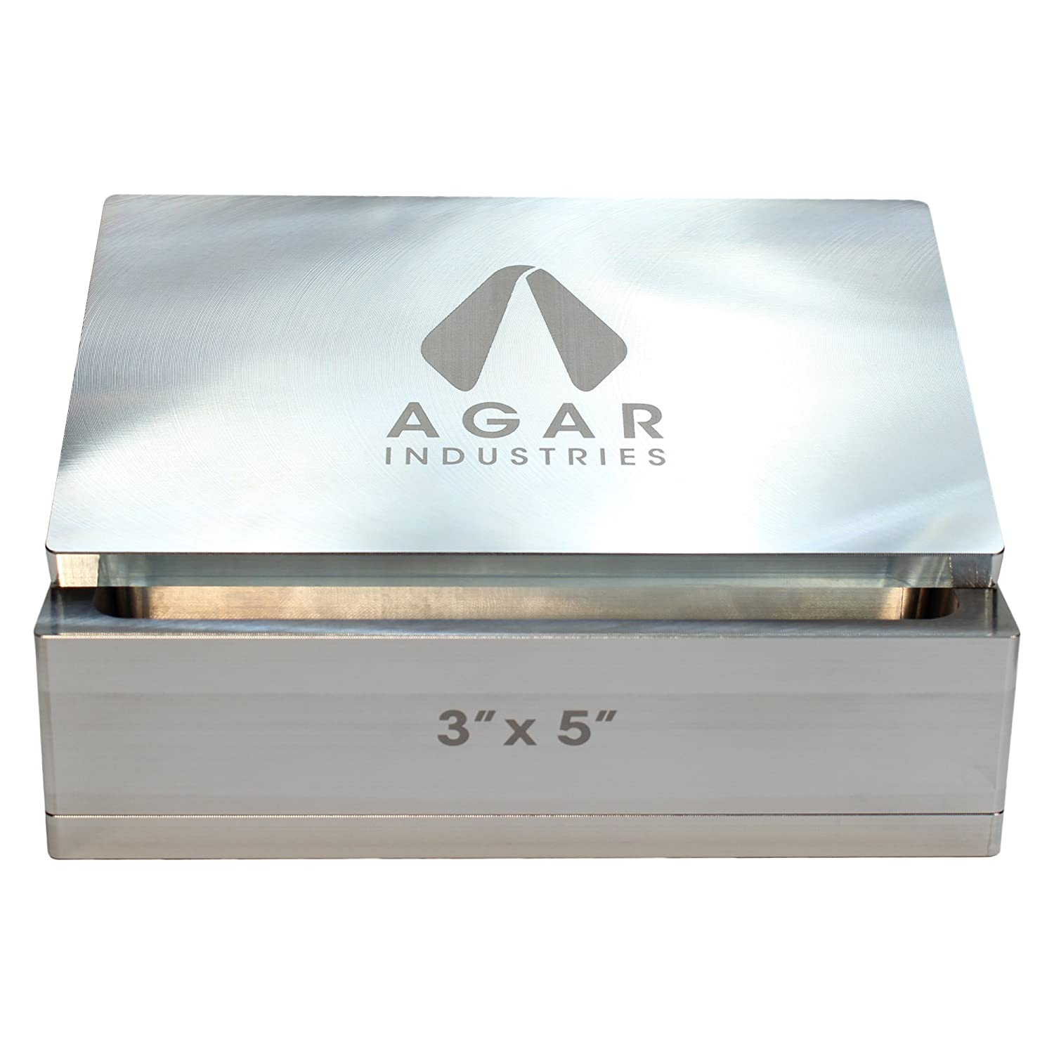 Agar Industries Rosin Pre Press Mold for DIY Solventless Extraction & Pressing - 2.5 x 2.5