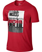 Nike Just Do It Image Men's T-Shirt Red/White 742666-657