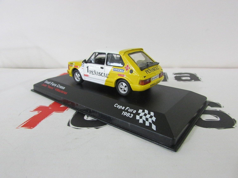 Réplica de coche Seat Fura Crono - Copa Fura 1983 (1:43) - Blanco: Amazon.es: Juguetes y juegos