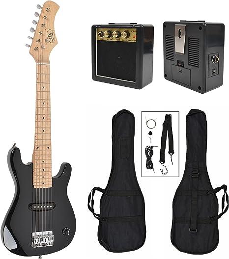 ts-ideen - Guitarra eléctrica sunburst infantil de 1/4 (4-8 anos ...