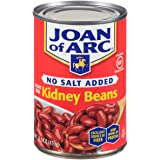 Joan of Arc Beans, Light Red Kidney, No Salt Added, 15.5 Ounce (Pack of 12)