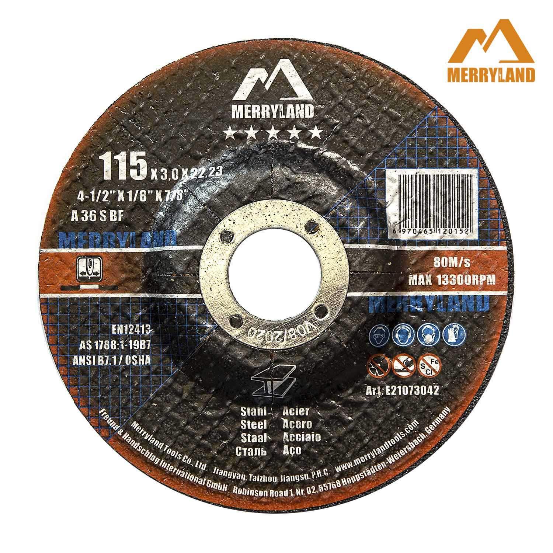 Merryland 4-1//2 X 0.045 Expert-line Cut Off Wheel Steel Metal Iron INOX 25PCS