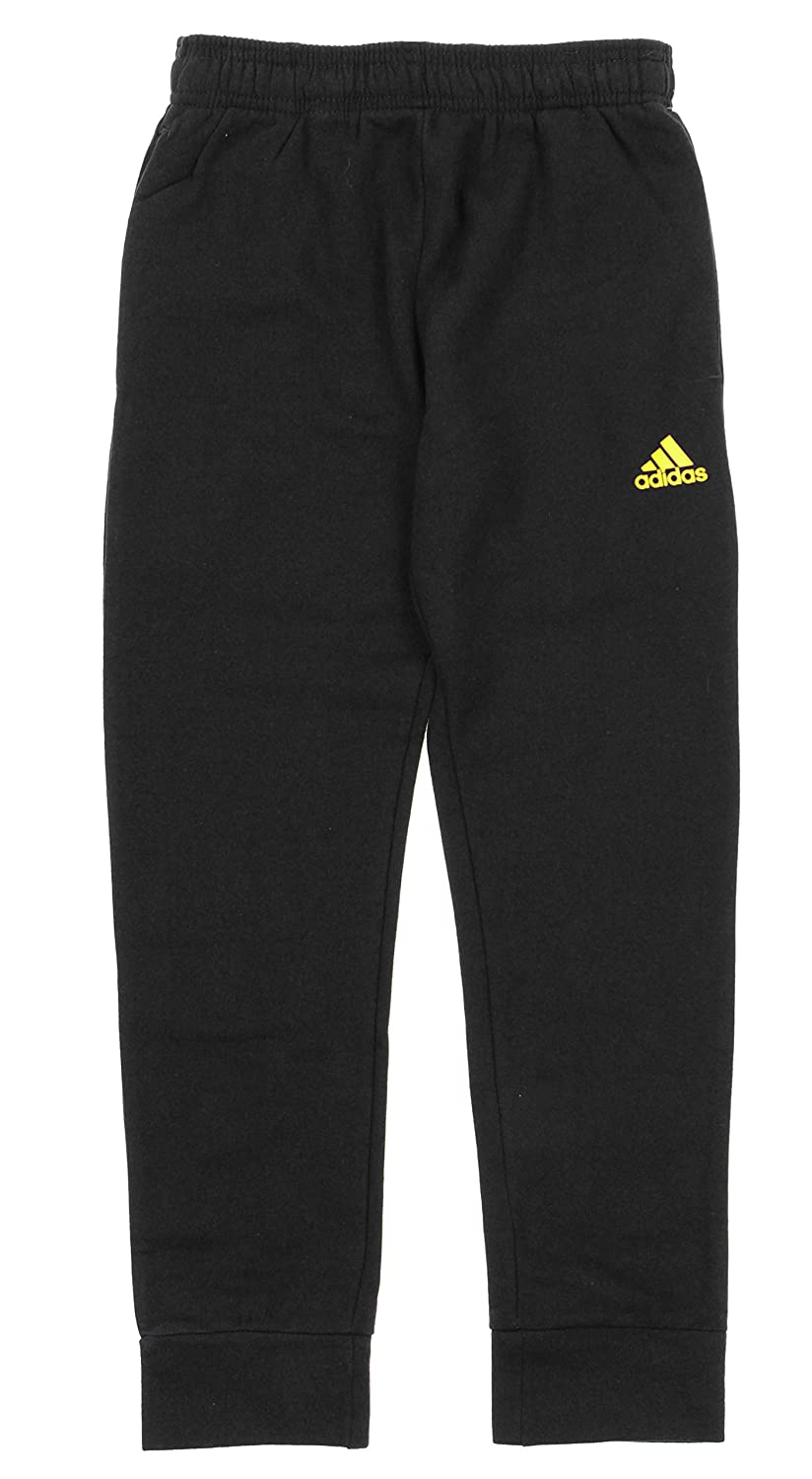 Adidas Big Boys Youth Game Ready Slim Fit Cuffed Fleece Pants, Color Options