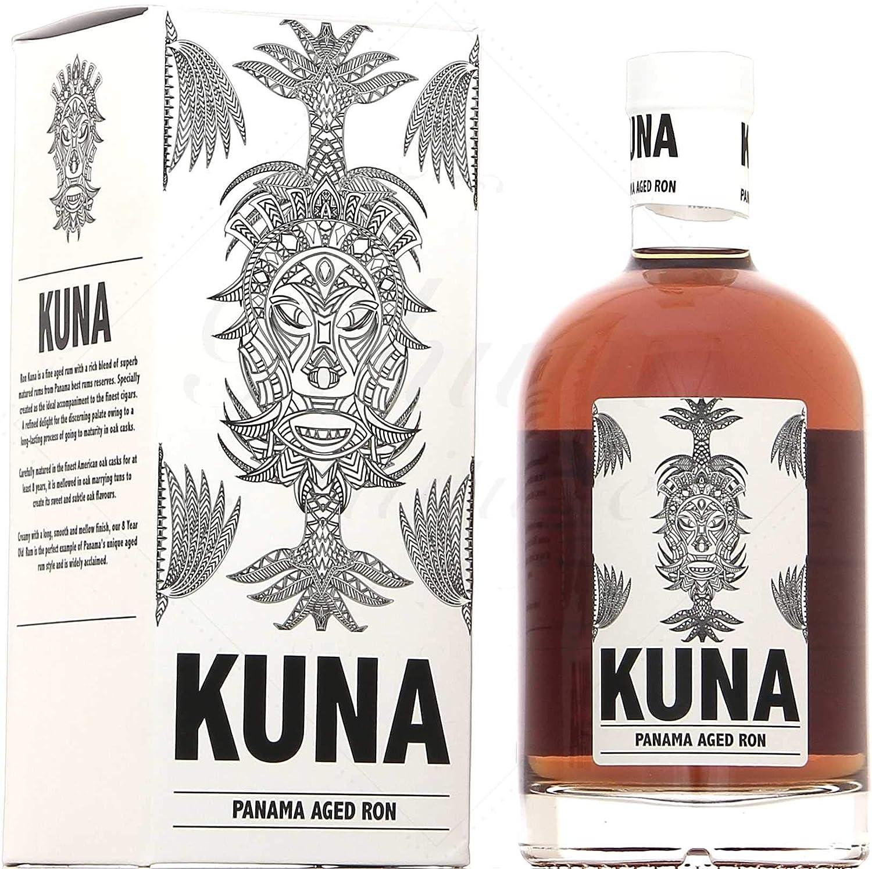 Rhum Kuna - Panama aged ron 40° 70cl: Amazon.es ...