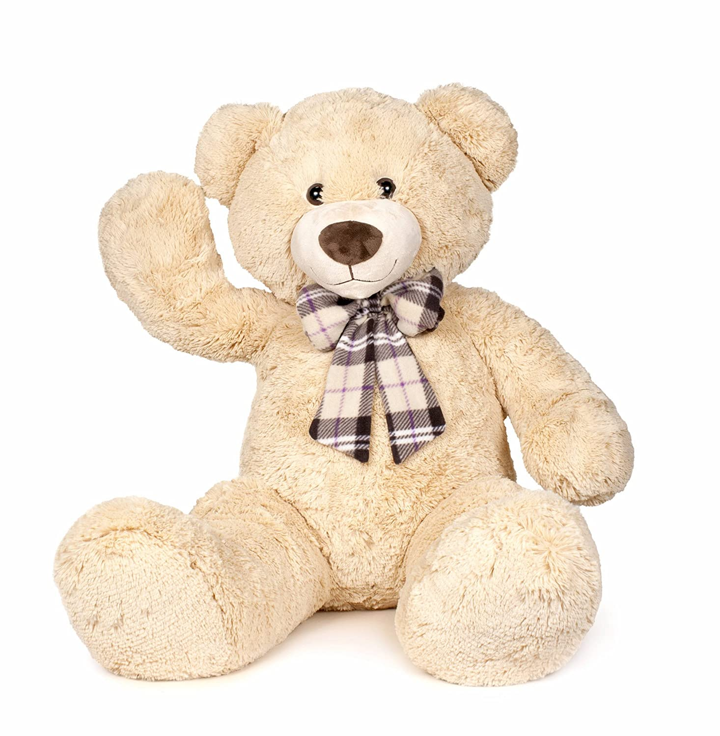 Famosa Softies Plush Bear with Bow 860003204 – 100 cm