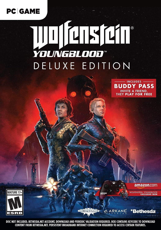 Amazon com: Wolfenstein: Youngblood - PS4 [Digital Code