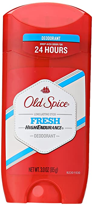 Old Spice High Endurance Fresh Scent Men's Deodorant, 3 Ounce