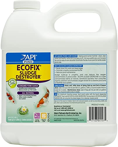 API-Pond-ECOFIX-Sludge-Destroyer-Bacterial-Cleaner