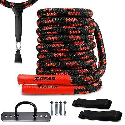 Exercise Workout Strength Training Undulation Ropes 30ft//40ft//50ft Battle Rope