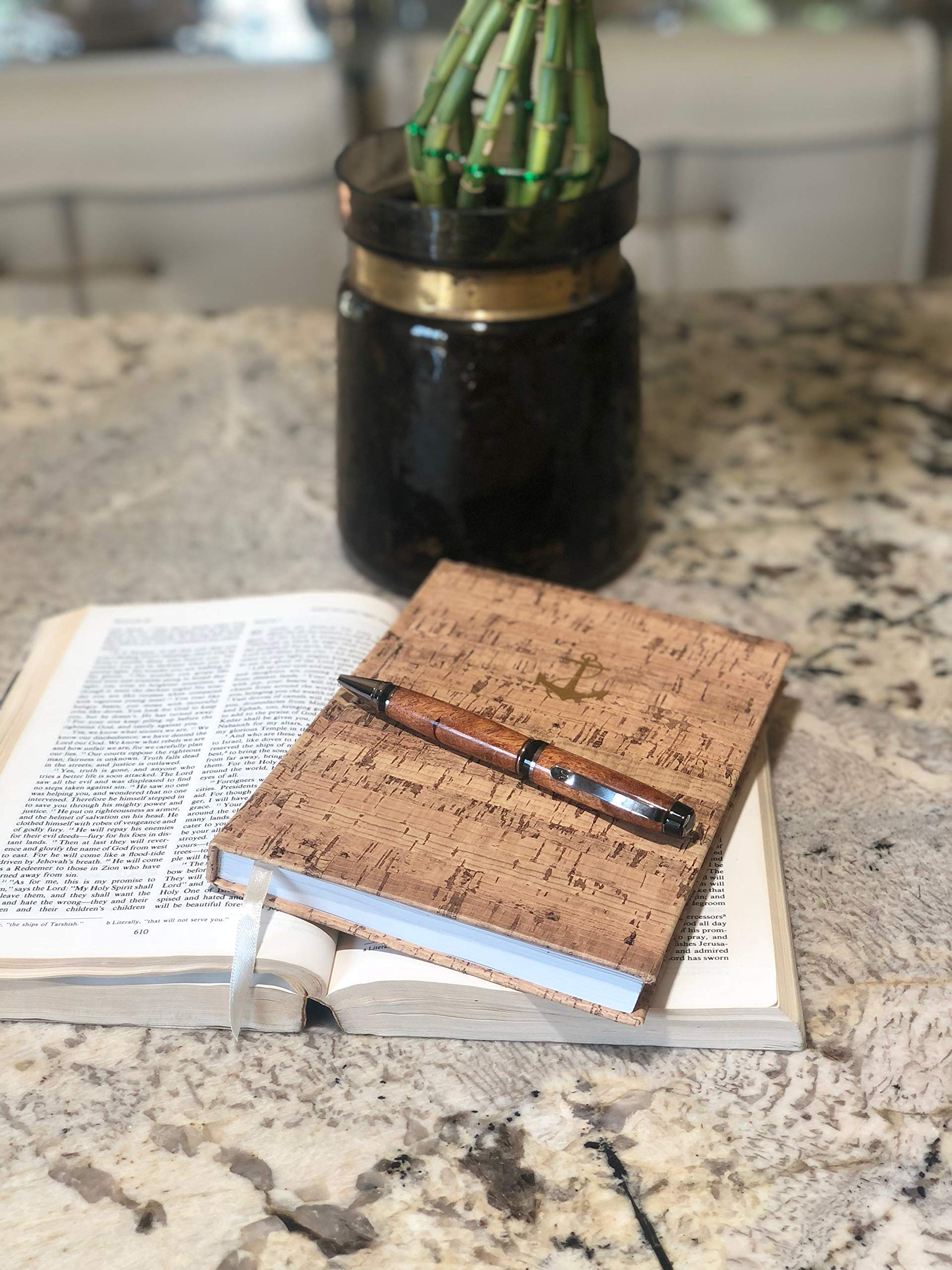 Bendecidos Pens Handmade Pens Texas Mesquite Wood, Black Titanium Plating by Bendecidos Pens (Image #8)