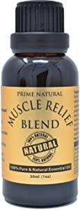 Prime Natural Muscle Relief Essential Oil Blend