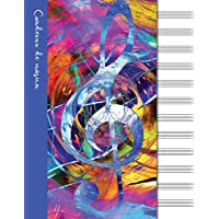 Cuaderno de música: Cuaderno de pentagramas - Cubierta
