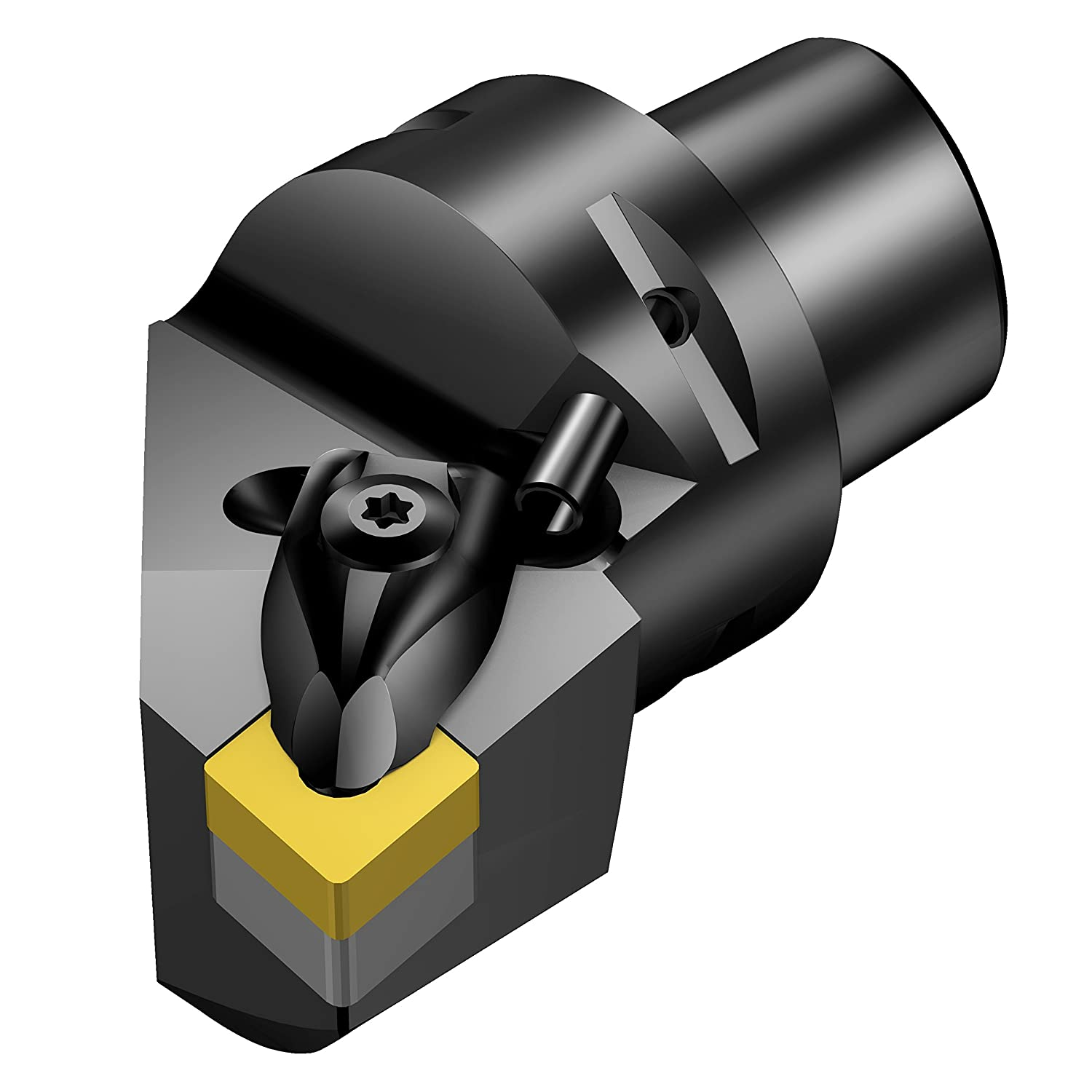 Right Hand CNMG 19 06 12 Master Insert 35 mm Shank Dia. Sandvik Coromant C5-DCLNR-35060-19 T-Max P Cutting Unit for Turning 35 mm Functional Width 60 mm Functional Length Cx-DCLNR//L Tool Style