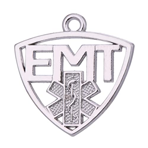 TEAMER EMT - Colgante de Estrella de la Vida para Pulsera y ...