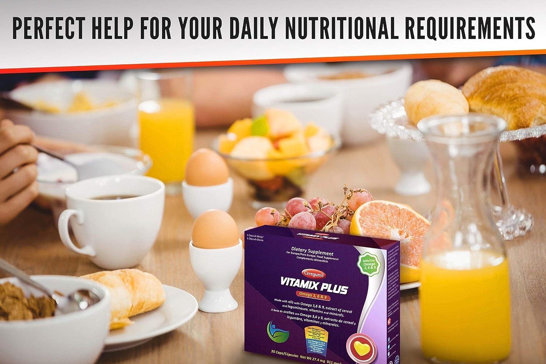 Ceregumil Vitamix Plus Complemento Alimenticio con Omega 3 6 9 DHA ...