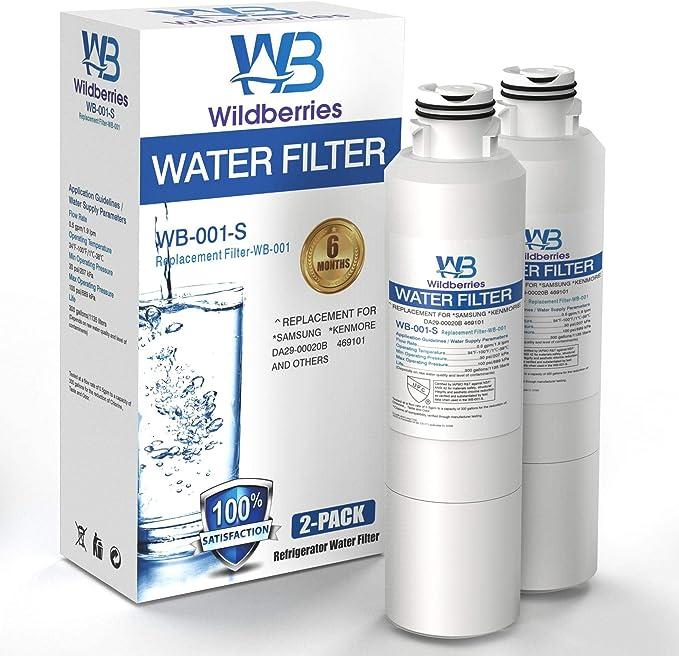 Wildberries da97-08006a-1 Refrigerator Water Filter WF294 SamsungRF23HCEDBSR//AA