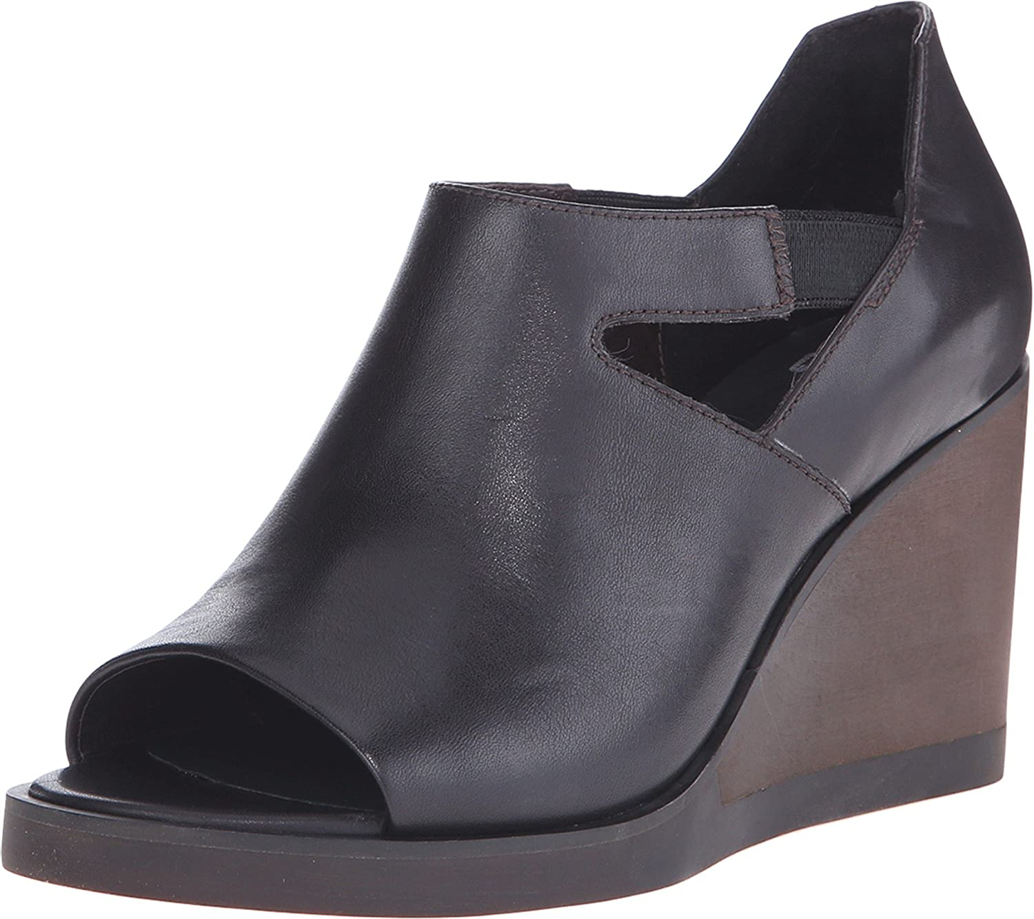 Camper Women's Limi Wedge Sandals B011BCW0AS 10 B(M) US|Dark Brown
