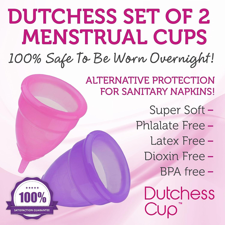 Amazon.com: Dutchess, Copa menstrual reutilizable ...