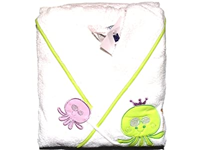 Albornoz bebe rizo serie Paul Con Pulpitos Verdes Talla 1