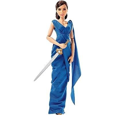 "Mattel DC Wonder Woman Diana Prince & Hidden Sword Doll, 12"": Toys & Games"