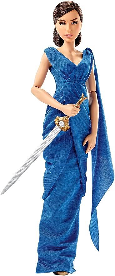 Amazon.com: DC Wonder Woman Diana Prince & Hidden Sword Doll, 12 ...