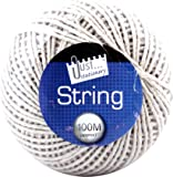 Tallon Just Stationery 100m String Ball - White