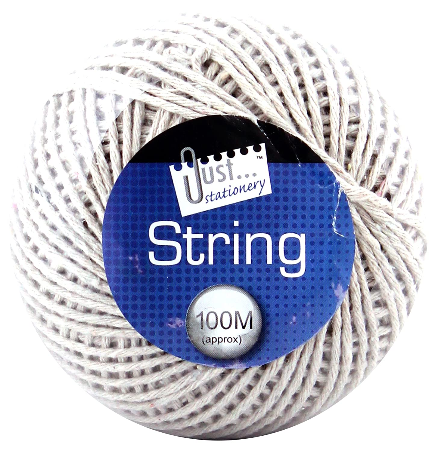 bac49995983 Tallon Just Stationery 100m String Ball - White  Amazon.co.uk  Office  Products