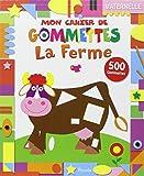 La ferme : 50 gommettes, maternelle