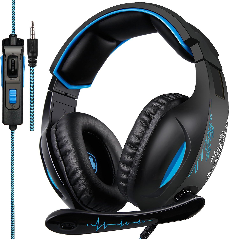 SADES PS4 Gaming Headset Xbox One PC Headphone 3.5mm Earphone Stereo Sound w Mic
