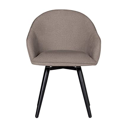Brilliant Studio Designs Home Dome Upholstered Swivel Dining Office Chair With Arms And Metal Legs In Camel Beige Alphanode Cool Chair Designs And Ideas Alphanodeonline
