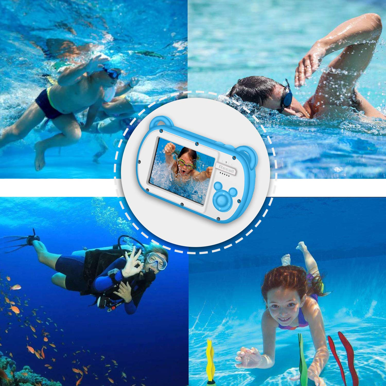 Kids Camera Waterproof Underwater Video Cameras for Snorkeling,Waterproof Underwater Digital Cameras for Kids--Holiday,Trip,Camping by Suntak (Image #2)