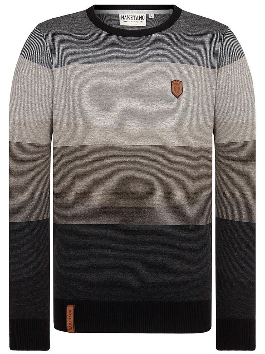 Knitwear Men Naketano Analverkehr Nicht Schwer Pullover: Amazon.co.uk:  Clothing