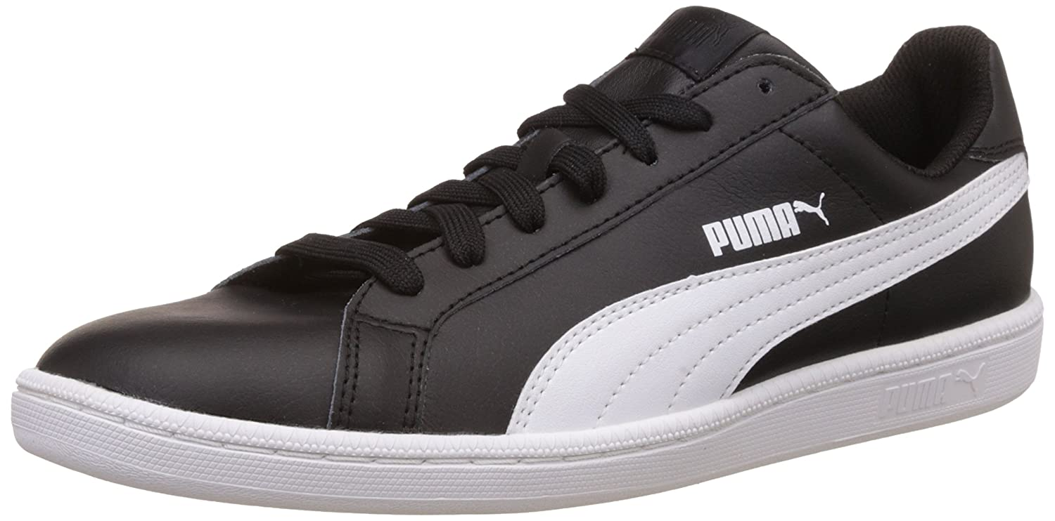 Puma Smash L, Zapatillas Unisex Adulto, Negro (Black/White), 36 EU