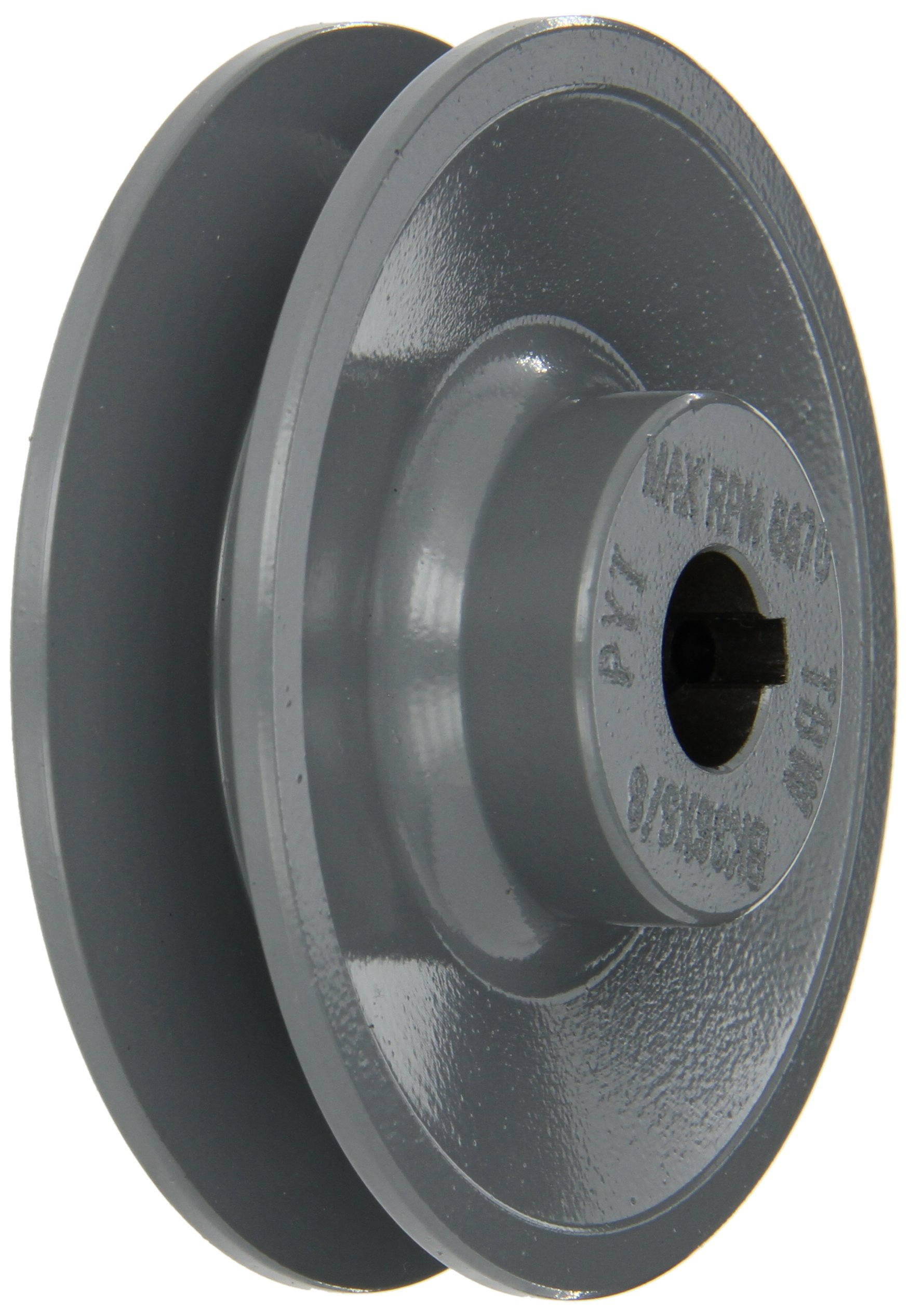 Gates BK36 Light Duty Web Sheaves, BK Type, 3.75'' OD, 1 Groove, 5/8'' Bore by Gates