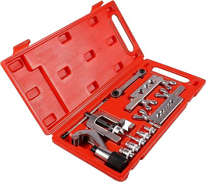 10pc métricas Tubo De Cobre Freno quema herramientas Kit Set De Mecánicos De Plomería