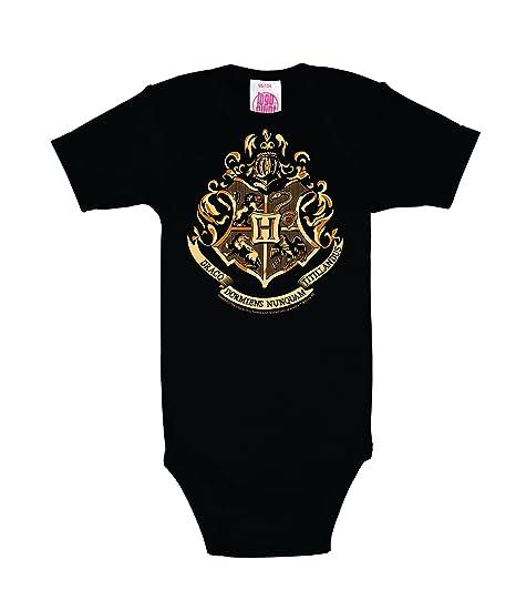 Logoshirt Pelicula - Harry Potter - Hogwarts - Emblema - Body para bebé - Pelele para bebé - Negro - Diseño Original con Licencia: Amazon.es: Ropa y ...