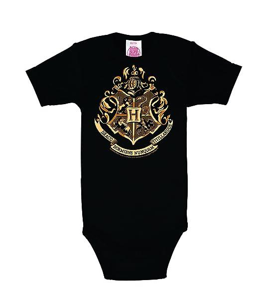 Logoshirt Pelicula - Harry Potter - Hogwarts - Emblema - Body para bebé - Pelele para