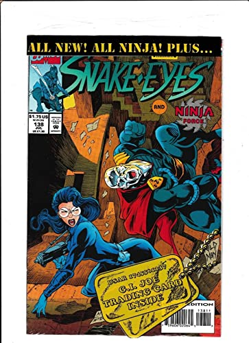Amazon.com: G.I.JOE #138 [1993 VF] SNAKE-EYES NINJA FORCE ...