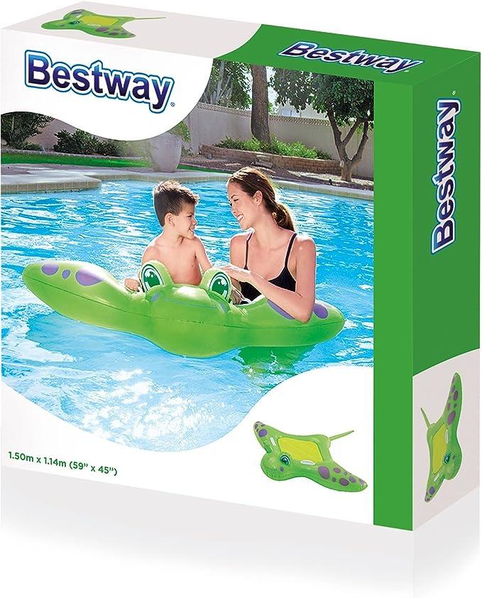 Bestway- Manta Cavalcabile, cm 150X114, Multicolor, 150 cm (bw41084) , color/modelo surtido: Amazon.es: Juguetes y juegos