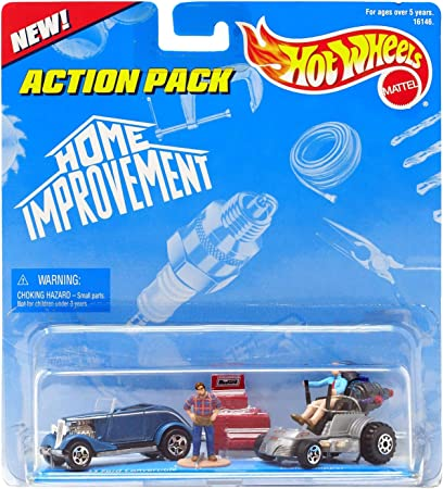 Amazon Com Hot Wheels Action Pack Home Improvement 2 Car Pack Ford Toys Games