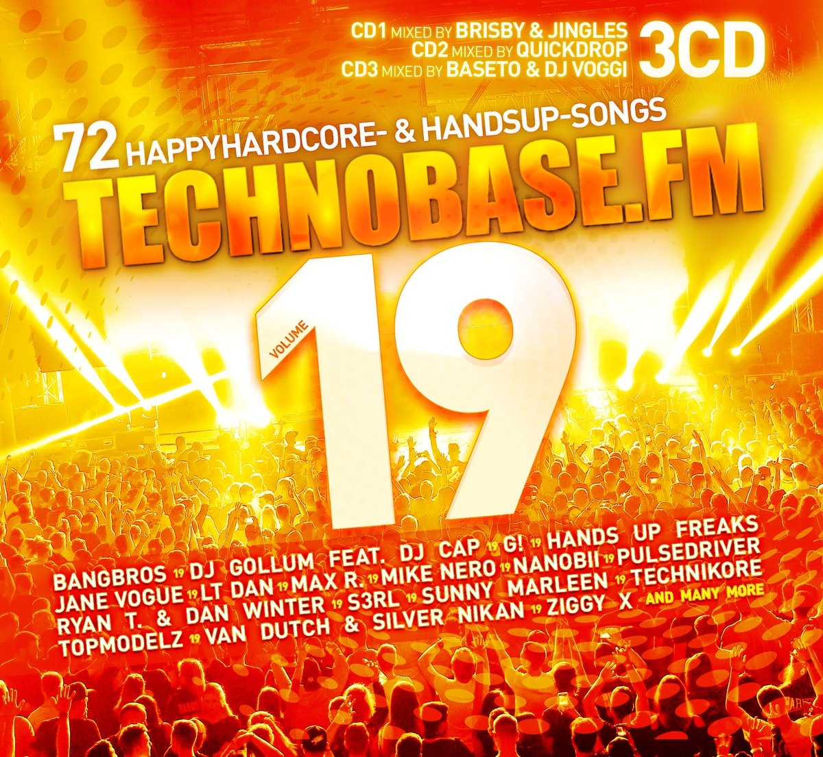 VA - Technobase.FM Volume 19 - 3CD - FLAC - 2018 - VOLDiES Download